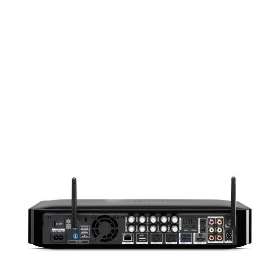BDS 580S - Black - 5.1-channel, 325-watt, 4K upscaling Blu-ray Disc™ Receiver with Spotify Connect, AirPlay and Bluetooth® technology. - Back