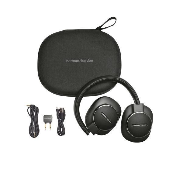 Harman Kardon FLY ANC - Black - Wireless Over-Ear NC Headphones - Detailshot 8