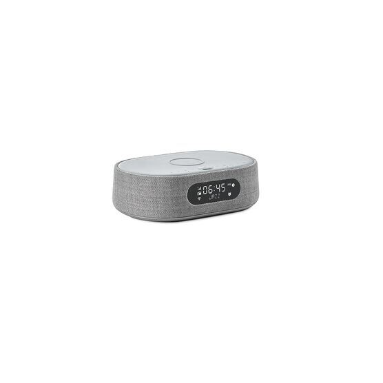 Harman Kardon Citation Oasis FM - Grey - Voice-controlled speaker with clock radio and wireless phone charging - Hero