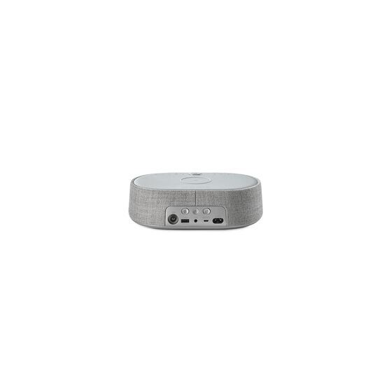 Harman Kardon Citation Oasis FM - Grey - Voice-controlled speaker with clock radio and wireless phone charging - Back