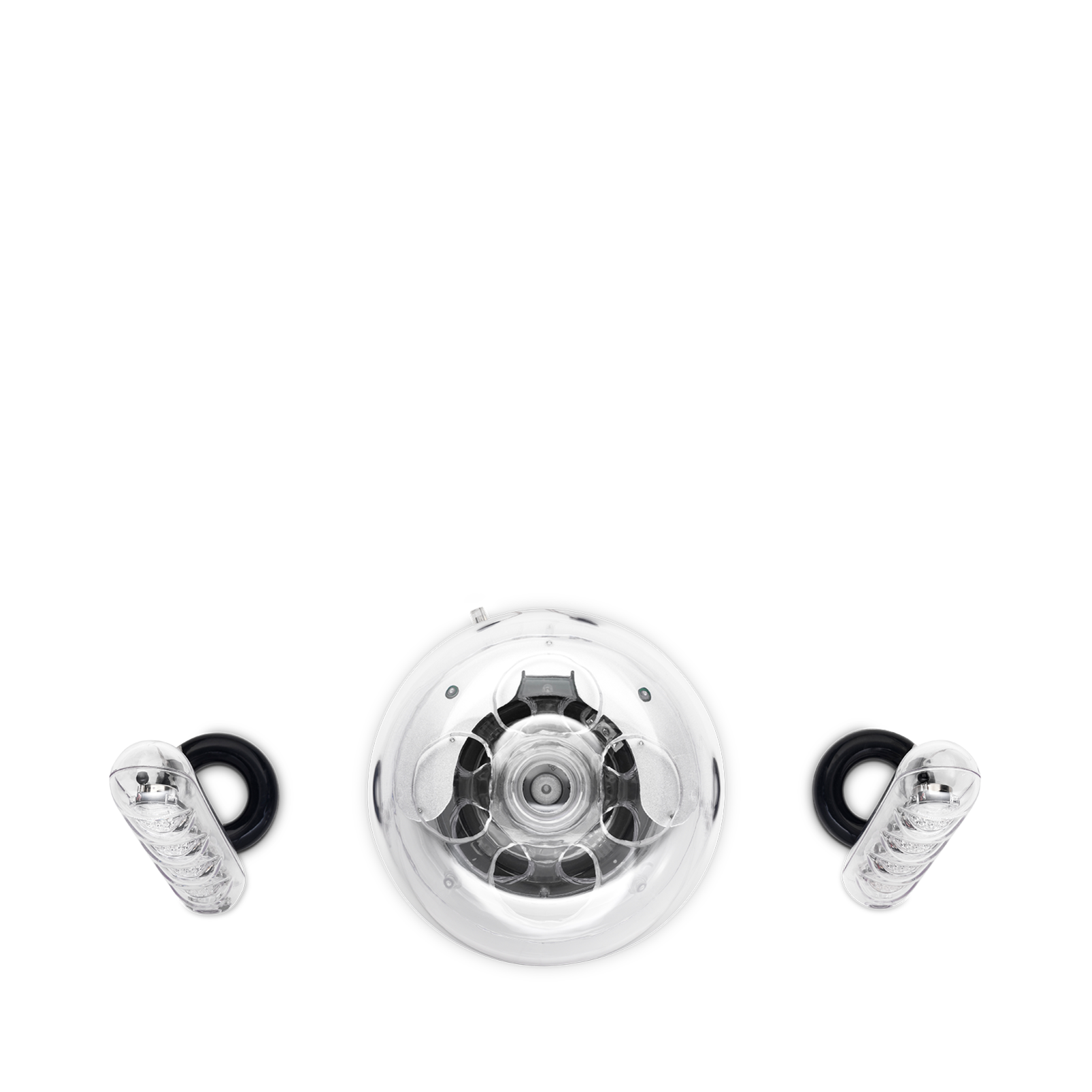 SoundSticks III - Clear - Three-piece, 2.1-channel multimedia sound system - Detailshot 3