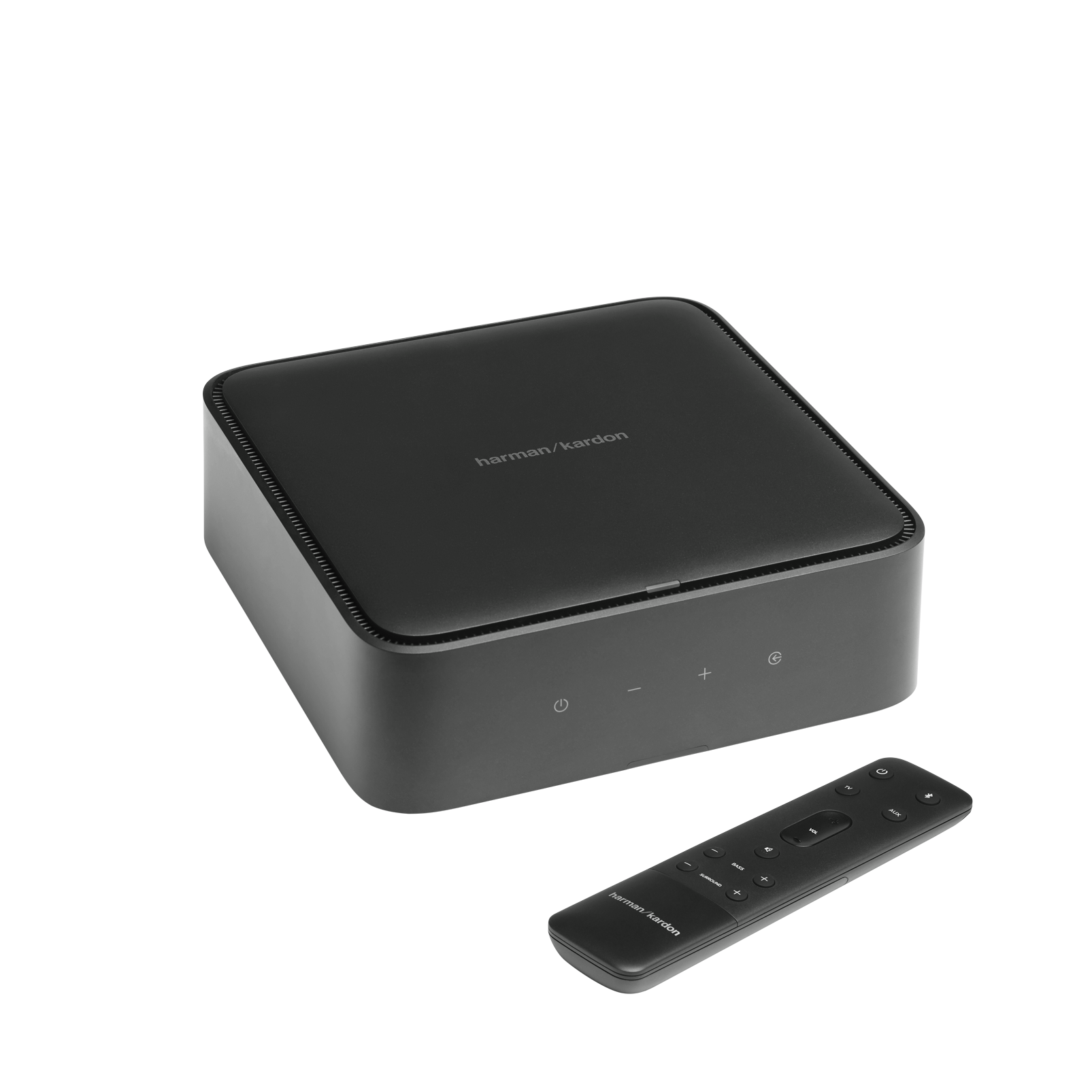 Harman Kardon Citation Amp - Black - High-power, wireless streaming stereo amplifier - Hero