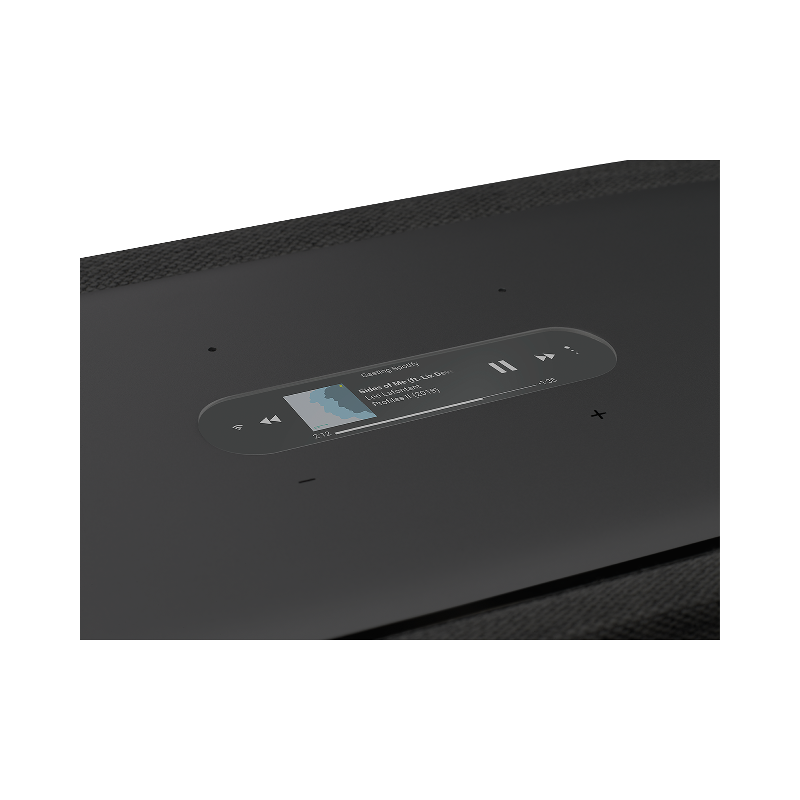 Harman Kardon Citation 500 - Black - Large Tabletop Smart Home Loudspeaker System - Detailshot 1